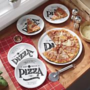 6 pc  pizza set