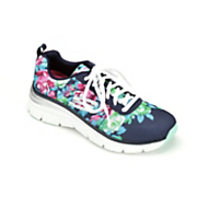 Women's Floral Fashion Fit Athletic Shoe by Skechers