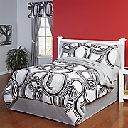 momentum complete bed set and window treatments