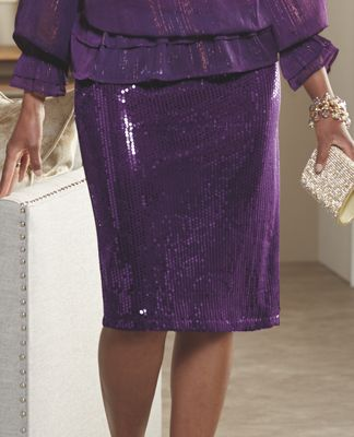 Roxie Sequin Skirt