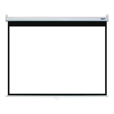 "100"" Manual Wall Projector Screen"