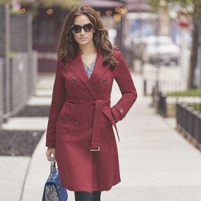 True Red Trench