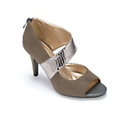 Madelyn Mixed Media Heel by Monroe and Main