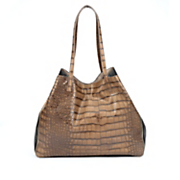 reptile zipper satchel by sondra roberts