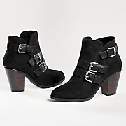 bailey triple buckle bootie by monroe and main