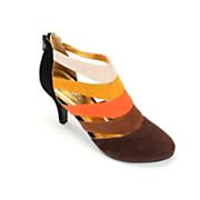 multicolor strap heel by classique