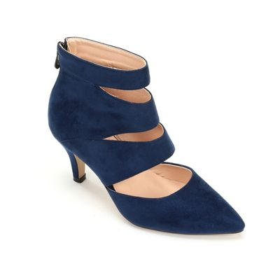 Bethany Faux Suede Heel by Monroe & Main