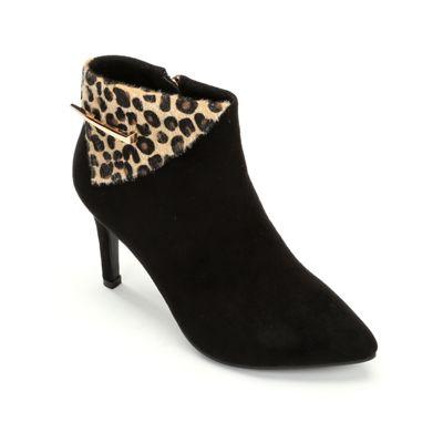 Sophisticate Leopard Bootie by Monroe & Main