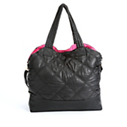 Reversible Nylon Quilted Tote by Under One Sky