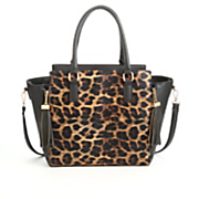 Animal Print Satchel