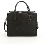 large pebbled satchel by sondra roberts