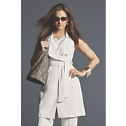 sleeveless trench 207