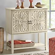 cream cassy cabinet