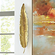 Golden Leaf Art