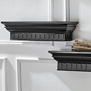 set of 2 molded shelves