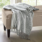 acrylic mohair oversized throw