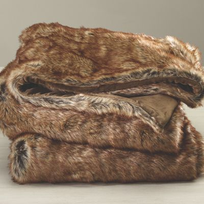Faux Naturale Throw