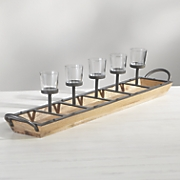 5 light candleholder