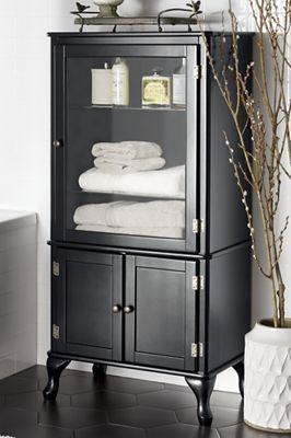 Black Hinged Cabinet