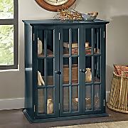 two tone 3 door cabinet
