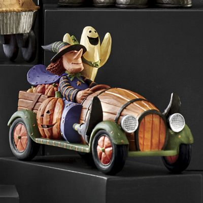 Witch in Barrel Car by Williraye Studio