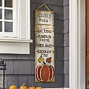 personalized farm wood sign