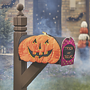 jack o  lantern mailbox cover