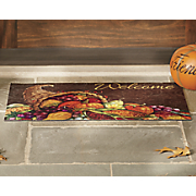 thanksgiving harvest mat   18  x 30