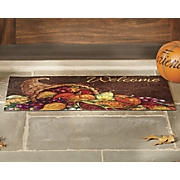 thanksgiving harvest mat   18  x 30