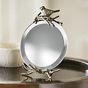 mini bird mirror