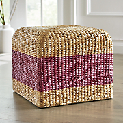 colorful hyacinth stool