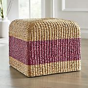 colorful hyacinth stool