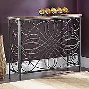 scroll console table 15