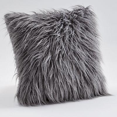 Faux Flokati Pillow