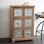 embossed metal cabinet