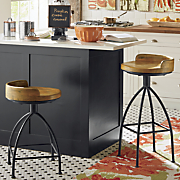blake wood seat stools
