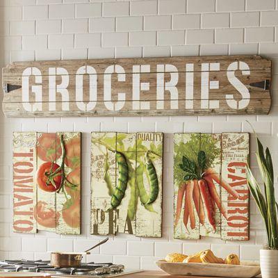 Groceries Art