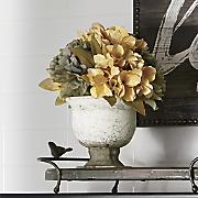 hydrangea arrangement
