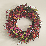 Berry Leaves Wreath