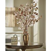 bronze silver dollar vase