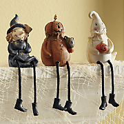 Set of 3 Halloween Shelf Sitters