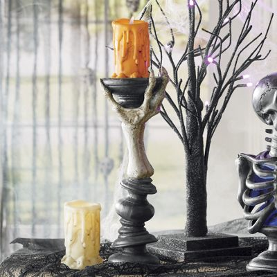 Skeleton Candleholder
