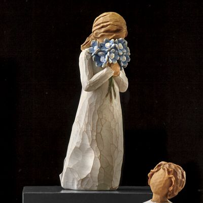 Forget-Me-Not Figurine by Willow Tree