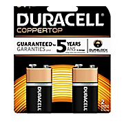 duracell 2 pack of 9 volt batteries