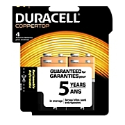 duracell 4 pack of 9 volt batteries