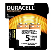 duracell 4 pack of 9 volt batteries