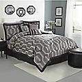 Hexagon 7-Piece Jacquard Comforter Set