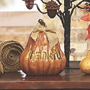 thankful led pumpkin