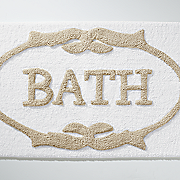 cotton bath mat   21  x 34