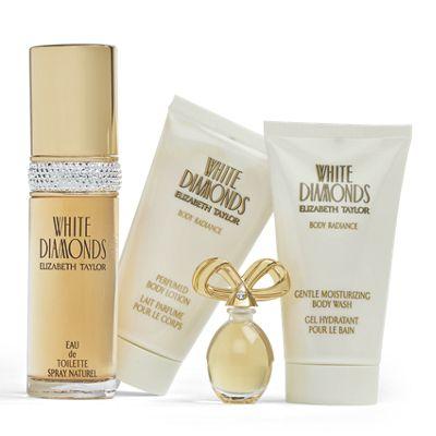 White Diamonds 4-Piece Set by Elizabeth Taylor